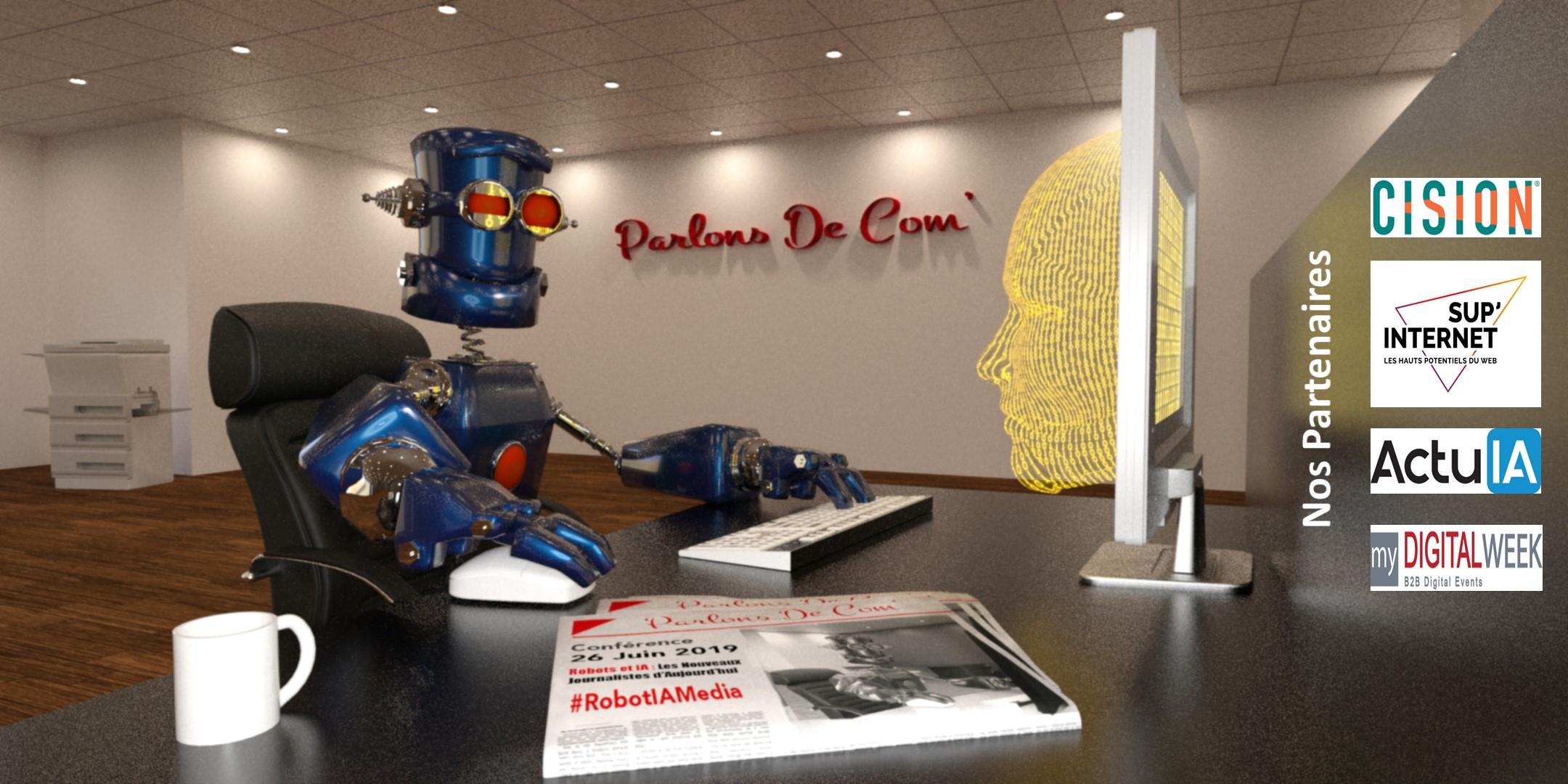 Robot et IA sont-ils les journalistes d'aujourd'hui ?